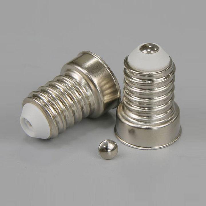 E14/25*17螺口式免焊灯头